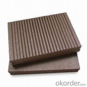 Wpc Deck Tile Solid And Grooved Waterproof Garden For Sale China  2016