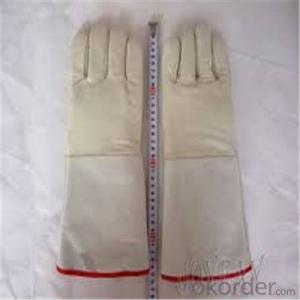 Low Temperature Resistant Leather Cryogenic Gloves LNG