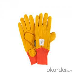 Low Temperature Resistant Leather Cryogenic Gloves Industrial