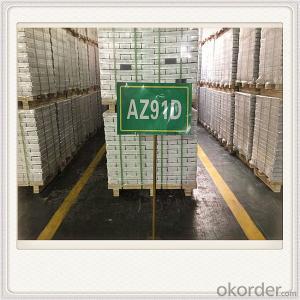Magnesium Alloy Ingot AZ61D Mg Alloy Ingot Shanxi