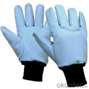 Low Temperature Resistant Leather Cryogenic Gloves Cryogenic Liquid Handing