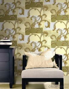 PVC Wallpaper Intco European Styly Wallpaper 3d Effect Wood Wall Panel Photo