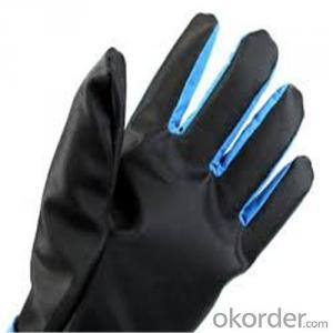 Low Temperature Resistant Leather Cryogenic Gloves Waterproof