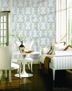 PVC Wallpaper Waterproof PVC Wallpaper for Interior Works Decoration
