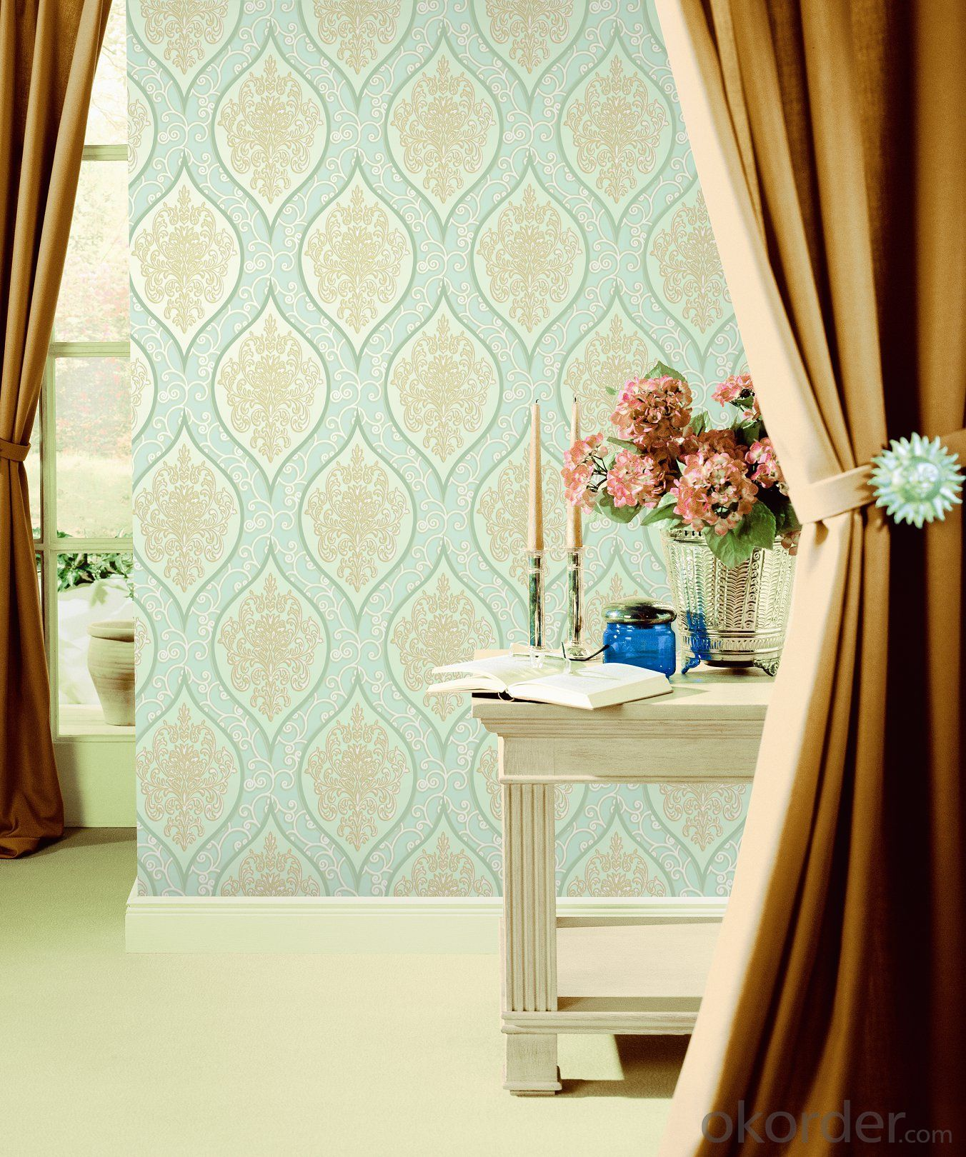 PVC Wallpaper Lowes Contact Paper Board Wall Decorating Board