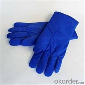 Low Temperature Resistant Leather Cryogenic Gloves with Good Temperature Resistance