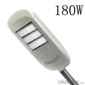 180w  led street light with CE/ROHS/CCC/CQC certification