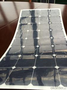 200W Semi-Flexible Solar Panel from China