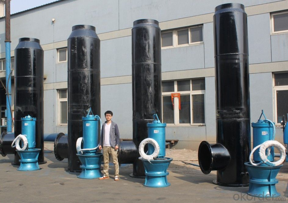 QZ Submersible Axial Flow Pump China Water Pumps