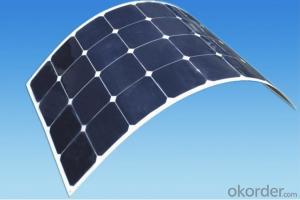 100W ETFE Material Semi Flexible Solar Panel