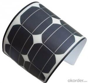Sunpower Flexible Solar Panel 20W for Sale