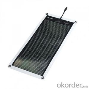 50W Flexible Solar Panel for PV Module for Sale