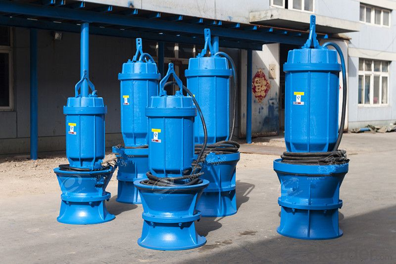 Axial Flow Pump China Water Pumps with Control Panel