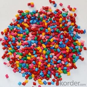 Plastic Color Masterbatch for Injection Molding, Wire Drawing, Extrusion Craft