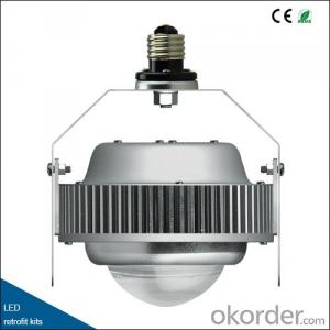 LED retrofit kits: 115lm/w, less decay, 60°90°120° beam angle, E26/E27/E39/E40
