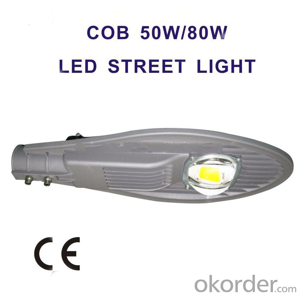COB LED Street Light 30W-180W CE Certificate IP65 outdoor