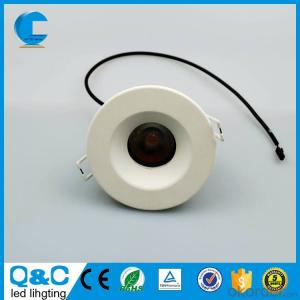 IP65 COB LED Downlight 7w cutout 75mm height 40mm