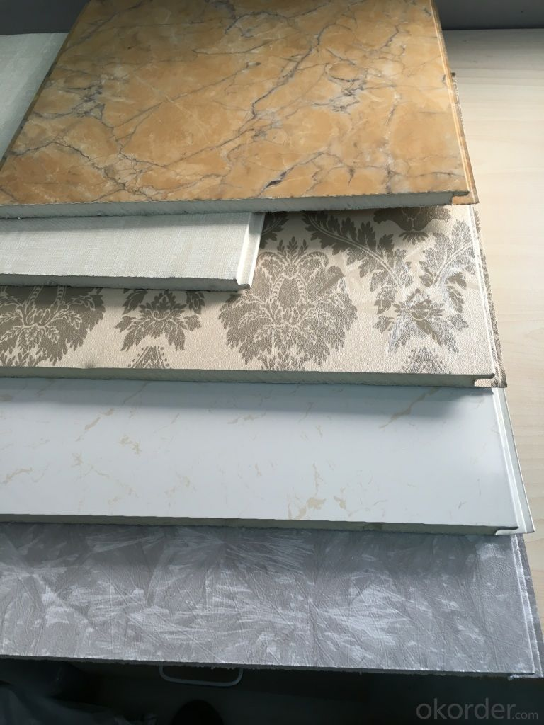 Aluminum Insulated Wall Panel For Interior Wall Decoration