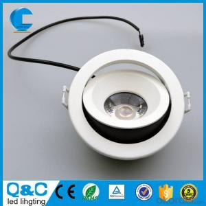 IP65 COB LED Downlight 10w round & square shape adjustable  cutout 85mm height 54mm