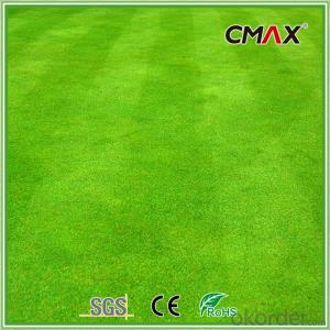 5/8 Inch U-shape Soccer Artificial Grass Apple Green with 50mm Height Carpet