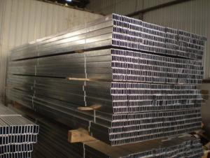galvanized studs and tracks used for drywall partition