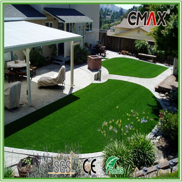 40mm U.VResistance PE Monofilament yarn with diamond shape High-quality Decorative Artificial Grass