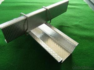 galvanized furring channel used for ceiling and drywall system
