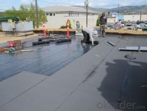 Underlayment SBS Modified Thickness Waterproofing Membrane Made In China