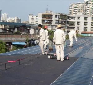 SBS Modified Bitumen Waterproof Roofing Membrane
