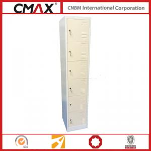 Steel Locker 6 Tiers for School, Office, Gym  Cmax-SL06-01