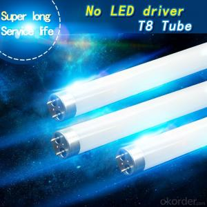 Led Tube Lighting T8 18W 1200mm No Driver AC directly drive