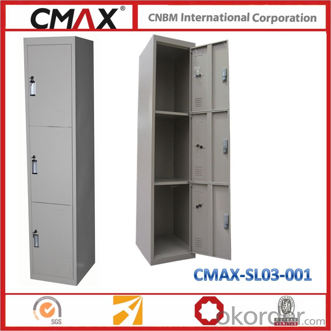 3 Doors KD type Steel Locker CMAX-SL03-001