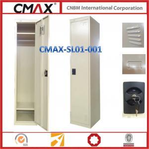 Single Door Steel Locker Labor School Changing Room Usage Cmax-SL1001