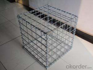 Galvanized Welded Gabion for The Garden In High Quality