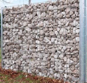 Galvanized Steel Gabion box for The Wall