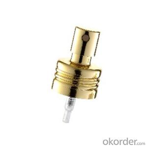 MZ002 perfume sprayer with aluminium collar