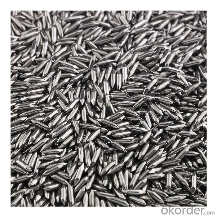 G100 6mm Steel Shot Used Chemcial Stainless Steel Ball
