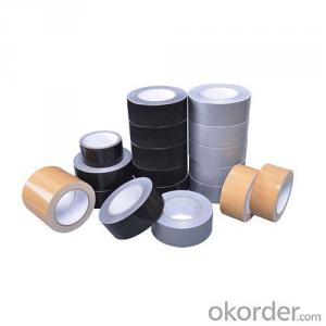 Cloth Adhesive Duct Tape/ Rubber/Black and Qualified