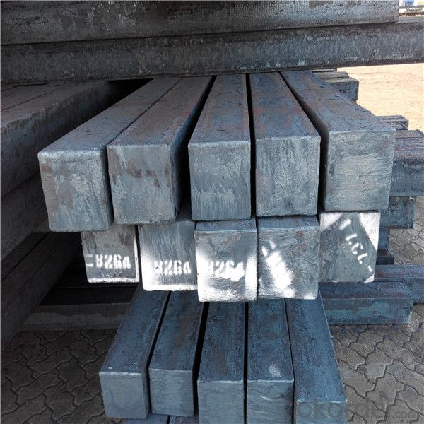 Prime concast square steel billet in different size