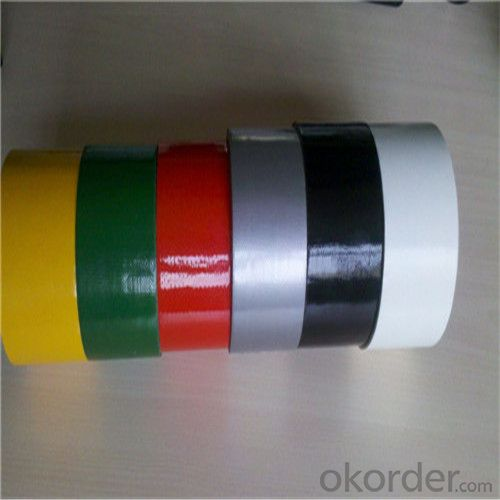Duct Cloth Tape Made in Chine with Natural Rubbere