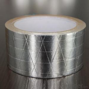 Solvent Insulation Self Adhesive Duct Repair Aluminum HAVC Foil Tape