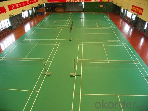 PVC Flooring for Indoor Sports Flooring, 6812