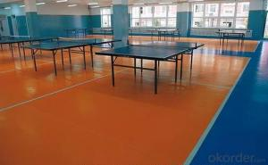PVC Flooring for Indoor Sports Flooring, 6813