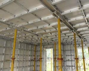 Aluminum System Formwork for Building Construction with EXcellent Concrete Surface Quality