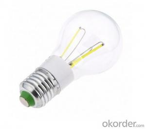 LED FILAMENT LAMP COLOR TEMPERATURE DIMMABLE BULB 3W NEW DEVELOPMENT