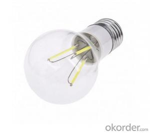 LED FILAMENT LAMP BULB 4W NEW DEVELOPMENT