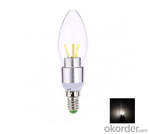 LED FILAMENT CANDLE LAMP BULB DIMMABLE 3W NEW DEVELOPMENT