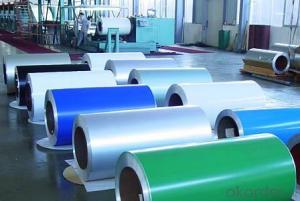 PVDF Aluminium Color Coated Coils For New Design Wood Grain