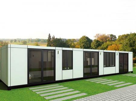 Top Housing Materials, Prefab Steel Frame Cabin, Portable Shop Building