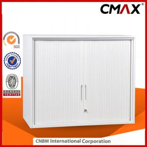 Steel Tambour Door Cupboard Metal Cabinet Office Furniture